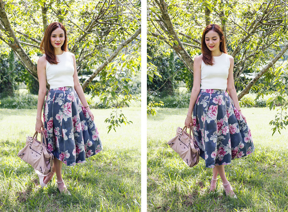 Jessica-Floral-Skirt-Compiled