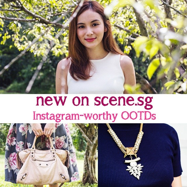 New article up on scene.sg -  @tippytapp shows us how to make our OOTDs look Instagram-worthy! ✌