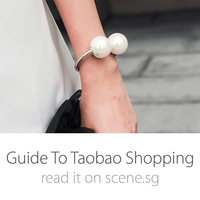 New post on scene.sg - a guide to Taobao shopping, featuring @tippytapp and her favourite #Taobao shops, shopping tips and more! More pics and info on scene.sg #taobaoaddicts