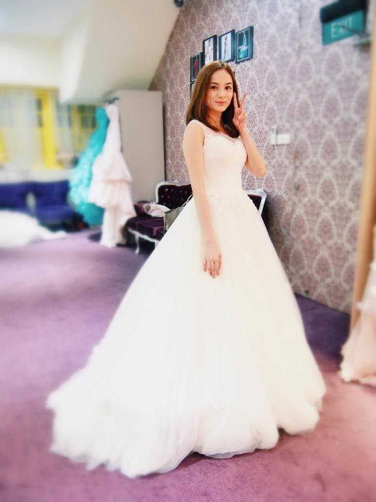Jessica Tham wedding dress
