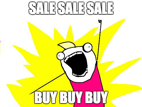 Sale Items Meme