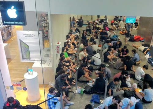 iPhone 6 Queue Singapore