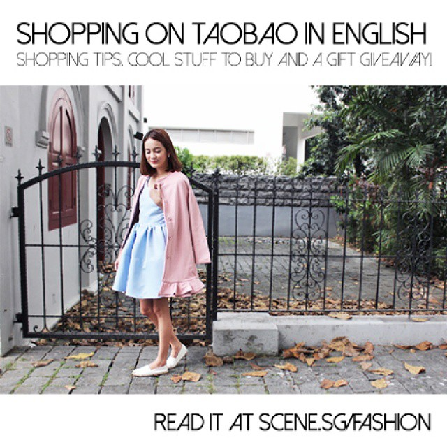 If you love shopping on Taobao (but not the confusing shopping process), you HAVE to read our new article about an easier way to buy stuff from Taobao! We're also giving away Christmas gifts @tippytapp picked out from Taobao, so go read to find out how to win something fabulous for yourself! ✌ http://scene.sg/fashion
