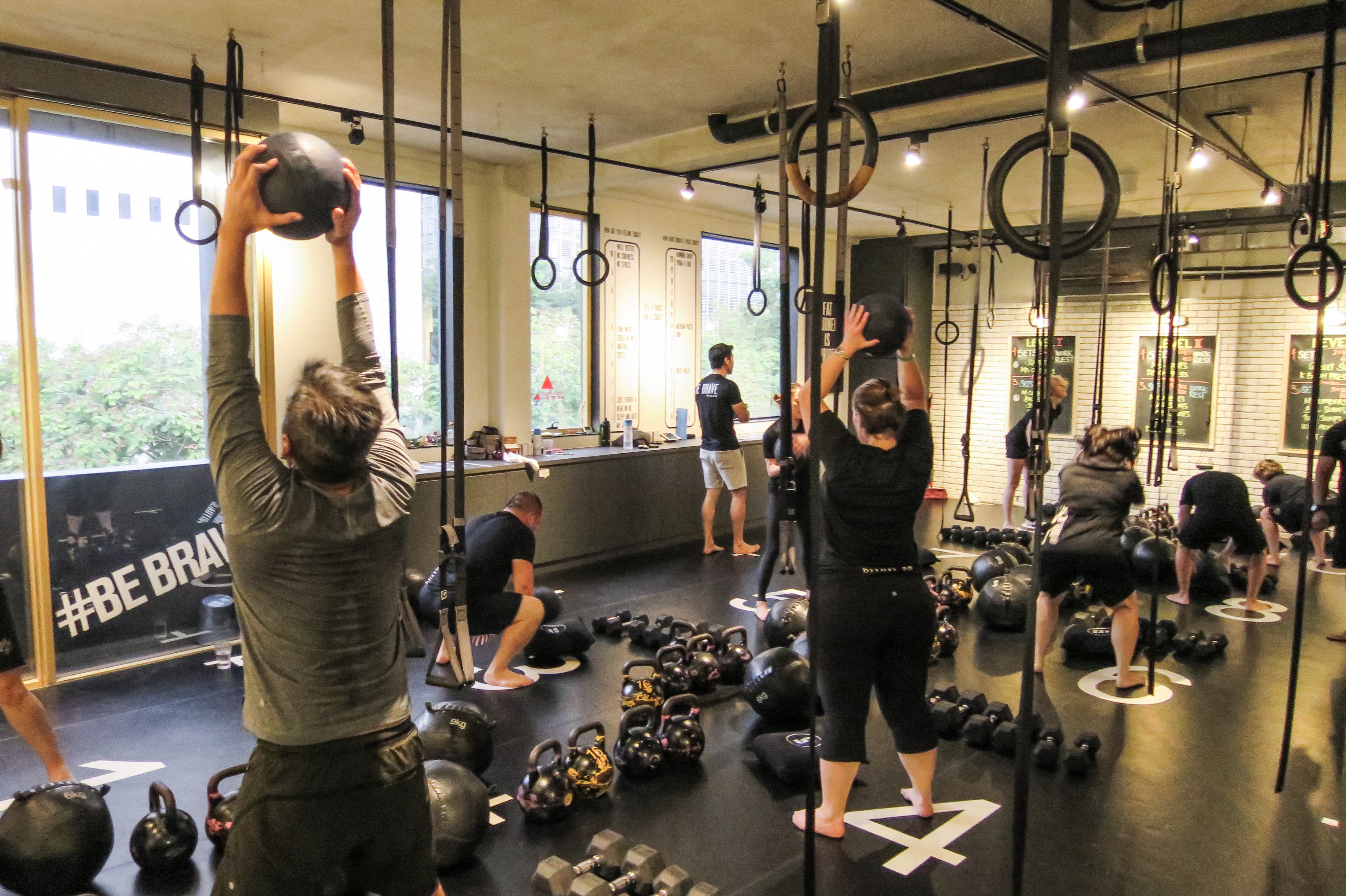 Best gyms in singapore part scene sg