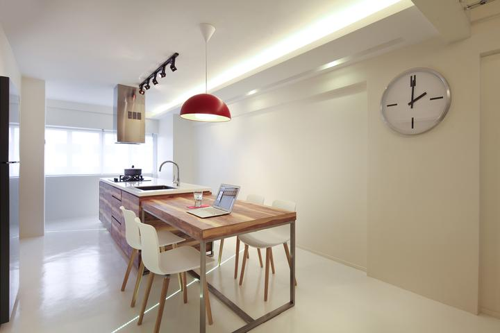 Linear Space Concepts Dining Room