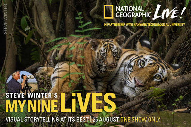 National Geographic Live My Nine Lives with Steve Winter