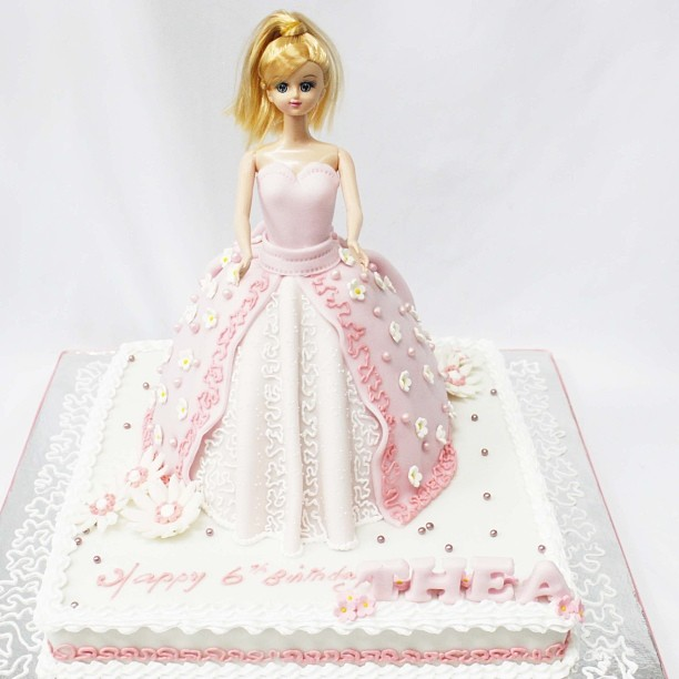 Temptations Cakes Doll Cake