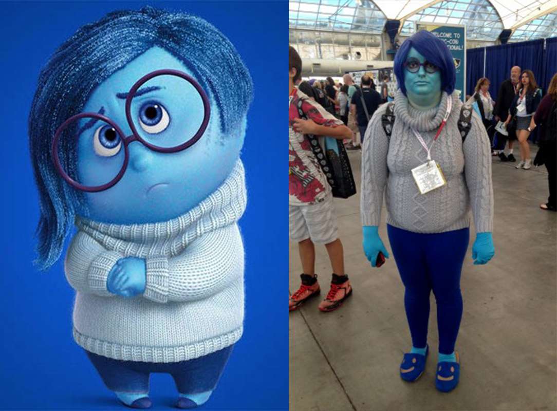 Inside out costume   Joy costume - Anger costume - Disgust