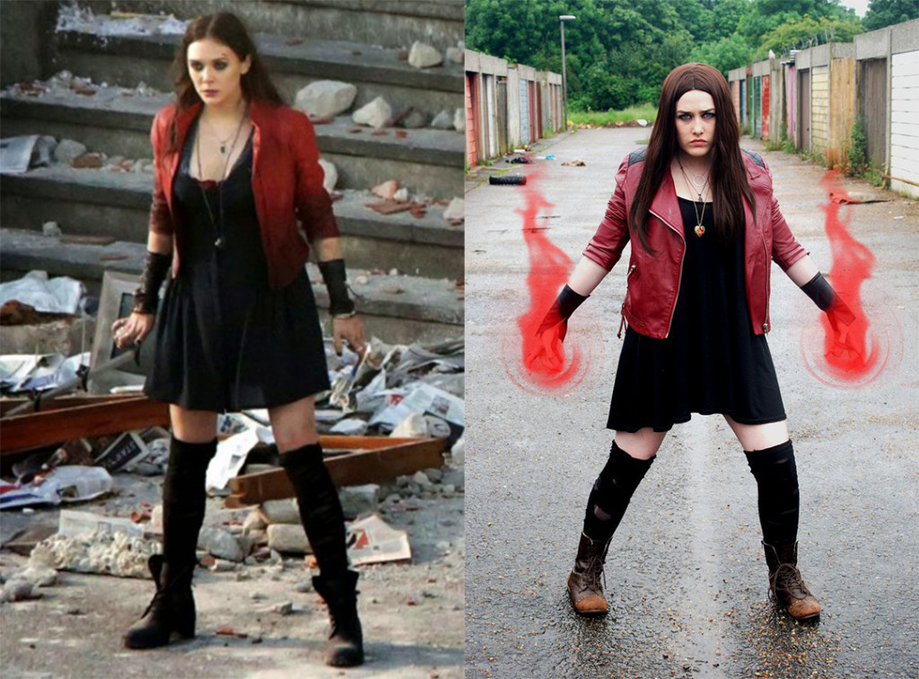 The Scarlet Witch Costume