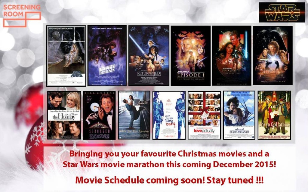 Christmas Movies at The Screening Room