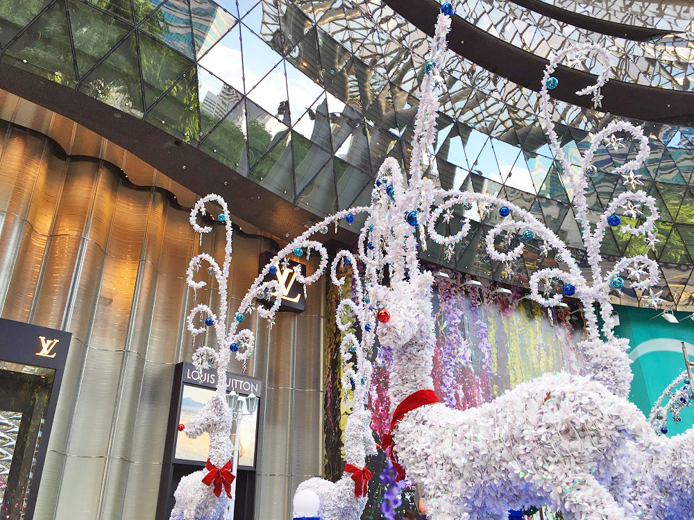 ION Orchard Bubble Snow Show 2015