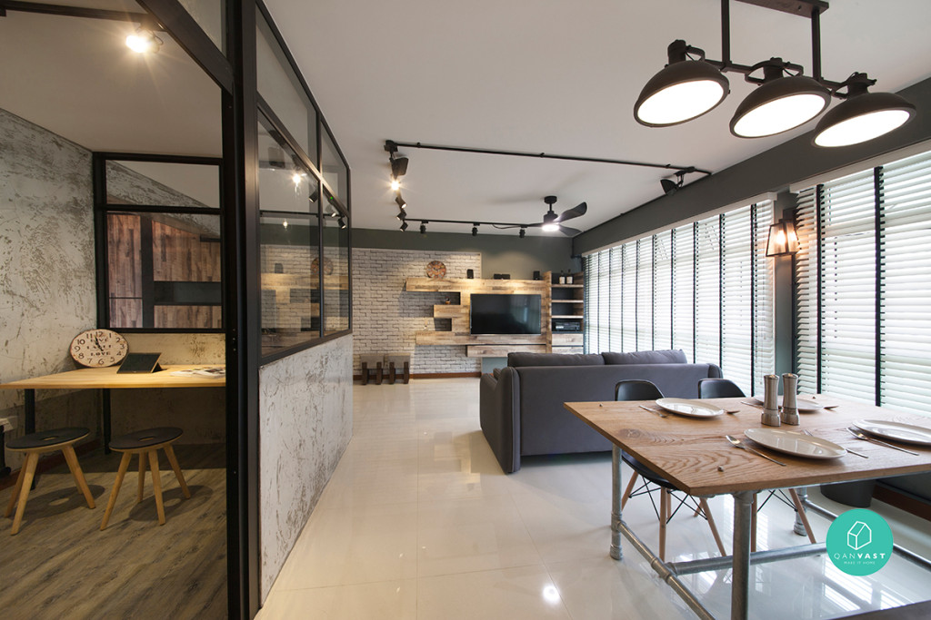 Starry-Homestead-Punggol-Industrial-Hallway-Dining