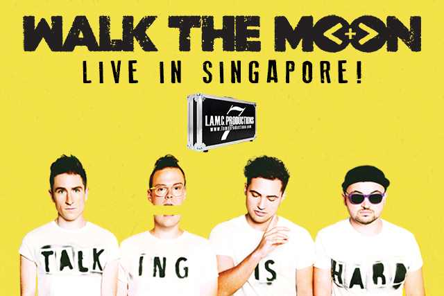 Walk The Moon in Singapore