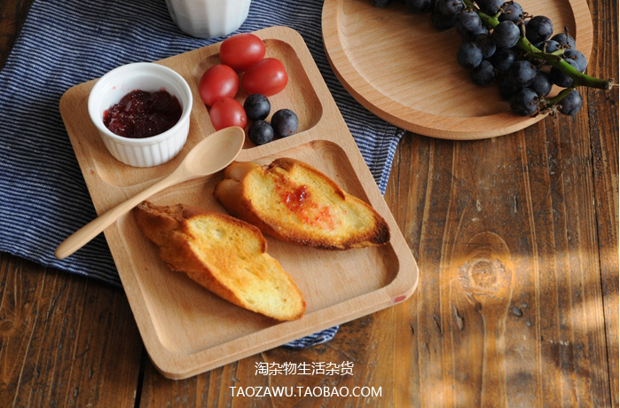 Taobao Wooden Plates