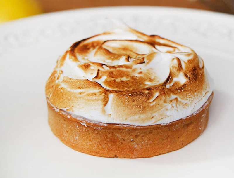 Ciel Patisserie Lemon Meringue Tart