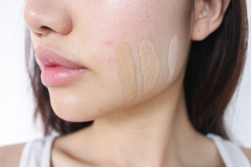 Foundation Swatch Jawline