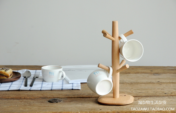 Taobao Wooden Cup Holder