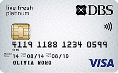 DBS Live Fresh Credit Card
