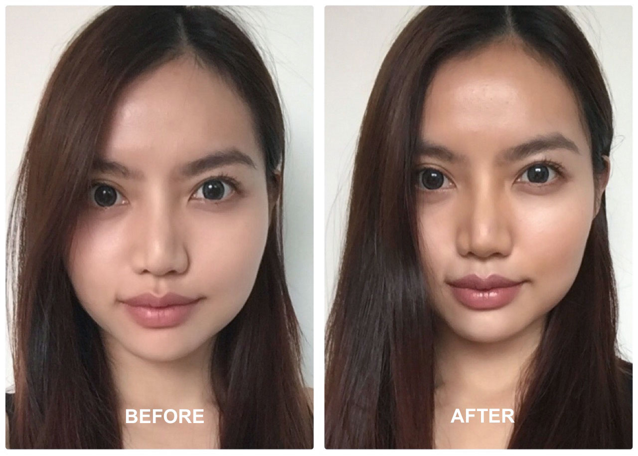 How To Contour And Highlight Like A Goddess Scene Sg