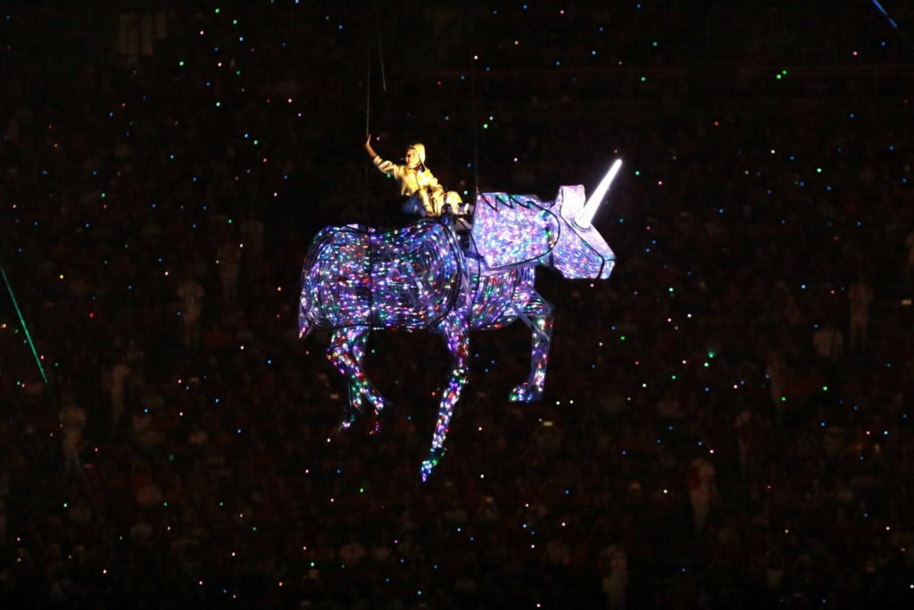 NDP 2016 Flying Unicorn