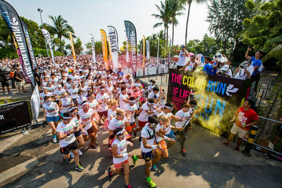 The Color Run Singapore 1