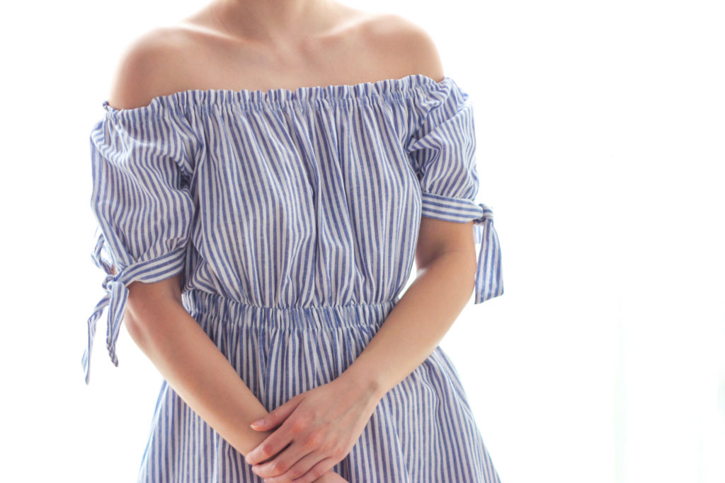 taobao-sgshop-striped-off-shoulder-dress