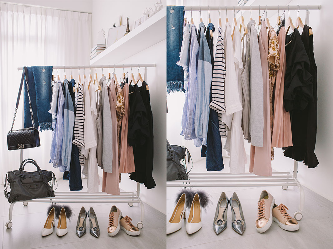 how to build a capsule wardrobe. Black Bedroom Furniture Sets. Home Design Ideas